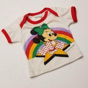 Vintage Disney Babies Minnie Mouse Star Shirt